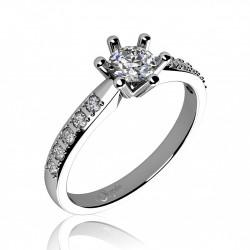 COUPLE zásnubný prsteň 6860085-0-48-1