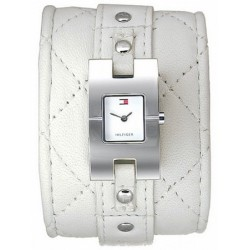 TOMMY HILFIGER SOPIA 1700341 women's watches stainless steel leather white