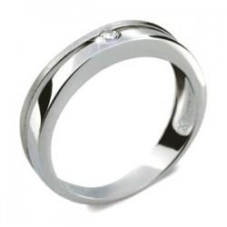 DANFIL DF1710 prsten s briliantem