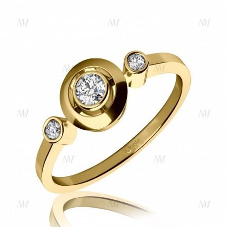 COUPLE zásnubní prsten 6810061-0-51-1