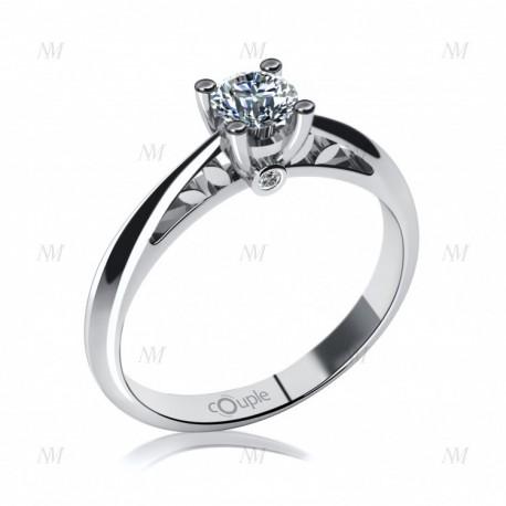 COUPLE zásnubný prsteň 6864023-0-50-1