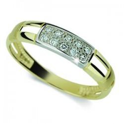 DANFIL DF2033 prsteň s briliantmi