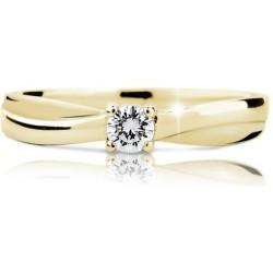 DANFIL DF1906 prsteň s briliantom