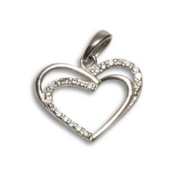 NM LHP010 prívesok srdce