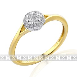 GEMS 381-2305 Ring mit Brillanten