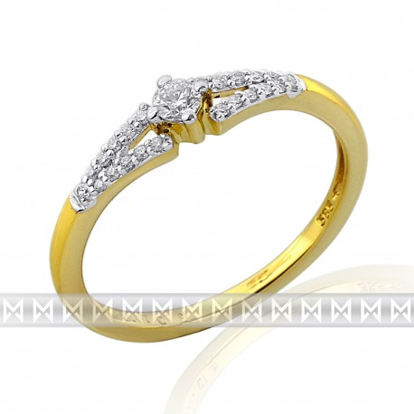 GEMS 381-1305 Ring mit Brillanten