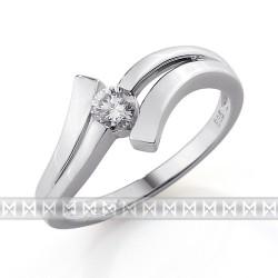 GEMS 386-0110 prsteň s briliantom