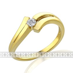 GEMS 381-0110 Ring mit Brillant