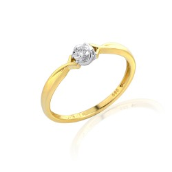 GEMS 381-2091 Ring mit Brillant