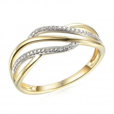 GEMS Caroline prsten s brilianty