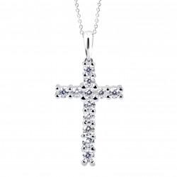 Cutie Jewellery Z6010w prívesok křížek s brilianty