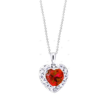 Cutie Jewellery Z8016w přívěsek srdce se zirkony