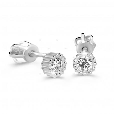 Cutie Jewellery Z60236w Ohrringe mit Zirkonen