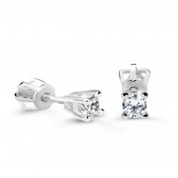 Cutie Jewellery Z61062w náušnice s briliantmi
