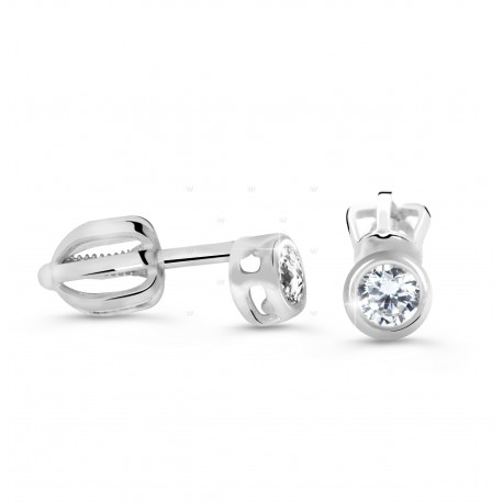 Cutie Jewellery Z62231w náušnice se zirkony