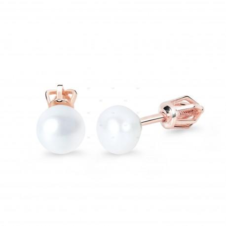 Cutie Jewellery Z8002r náušnice s perlami (šroubek)